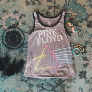 Pink Floyd band tank top